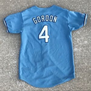 KANSAS CITY ROYALS ALEX GORDON BASEBALL JERSEY